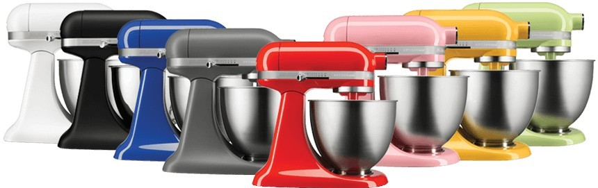 KitchenAid Mini Mixer Colours